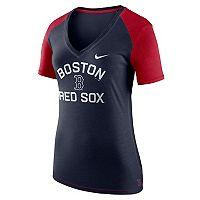 Women's Nike Boston Red Sox Fan Top Tee