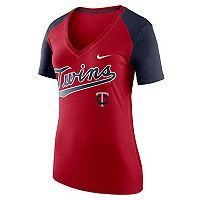 Women's Nike Minnesota Twins Fan Top Tee