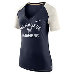 Women's Nike Milwaukee Brewers Fan Top Tee