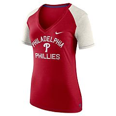 Women's Nike Philadelphia Phillies Fan Top Tee