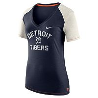 Women's Nike Detroit Tigers Fan Top Tee
