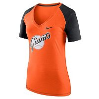 Women's Nike San Francisco Giants Fan Top Tee
