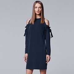 Women's Simply Vera Vera Wang Cold Shoulder Dress