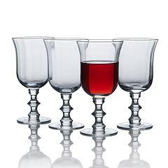 Mikasa Bordeaux 4 pc Wine Goblet Set