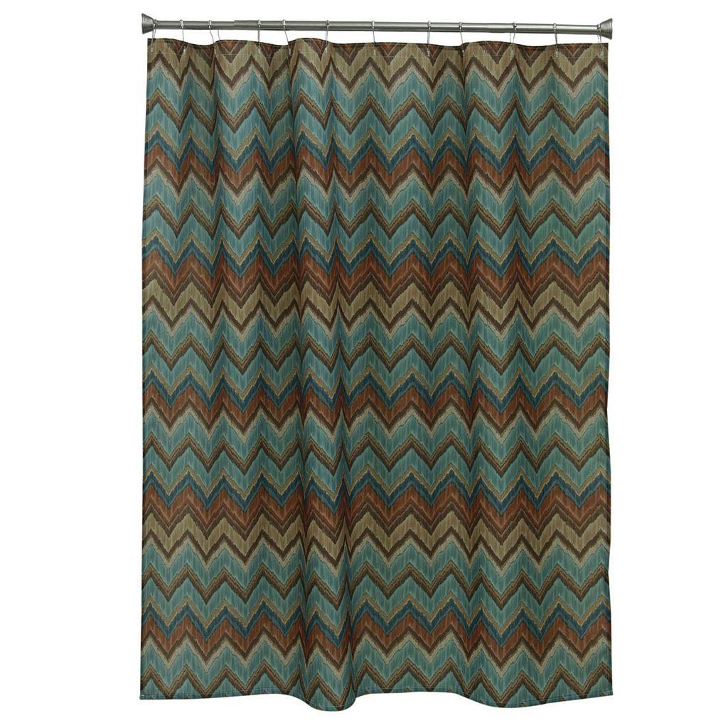 Bacova Sierra Zigzag Shower Curtain