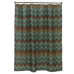 Bacova Sierra Zigzag Shower Curtain