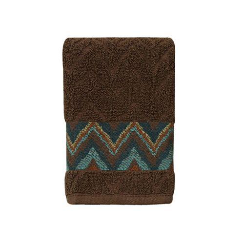Bacova Sierra Zigzag Fingertip Towel