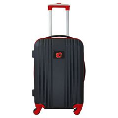 Calgary Flames 21-Inch Wheeled Carry-On Luggage