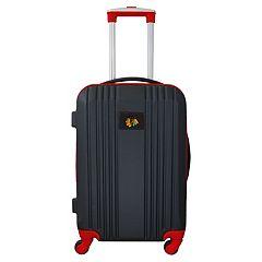 Chicago Blackhawks 21-Inch Wheeled Carry-On Luggage