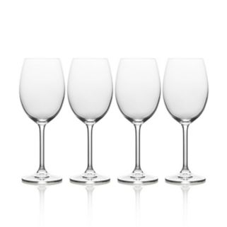 Mikasa Julie 4-pc. White Wine Glass Set
