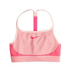 Girls 7-16 Nike Racerback Textured Sports Bra