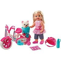 Little Mommy Learn to Ride Baby Doll