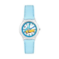 Disney / Pixar Cars 3 Cruz Ramirez Kids' Leather Time Teacher Watch