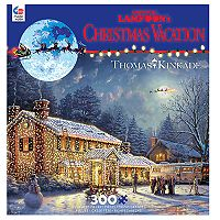 Ceaco National Lampoon's Christmas Vacation Thomas Kinkade 300-piece Puzzle