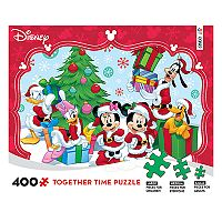 Disney's Mickey Mouse & Friends 400-piece Christmas Puzzle by Ceaco