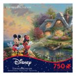 Disney's Mickey Mouse & Minnie Mouse Thomas Kinkade 750-piece Puzzle by Ceaco