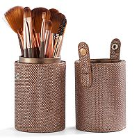 BH Cosmetics Shimmering Bronze Makeup Brush Set