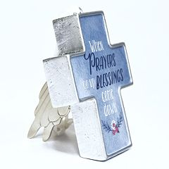 New View 'Prayers' Cross Art A Gram Wall Decor
