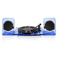 Victrola Bluetooth Record Player with 2-Speed Turntable & Rechargeable Speakers