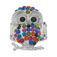 Mudd® Owl Stretch Ring