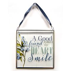 New View 'Good Friend' Suncatcher Wall Decor