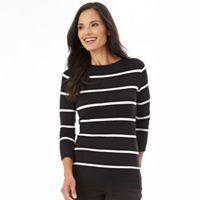 Women's Apt. 9® Flutter Sleeve Sweater