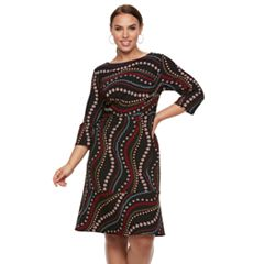 Plus Size Chaya Fit & Flare Dress