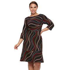 Plus Size Chaya Fit & Flare Dress