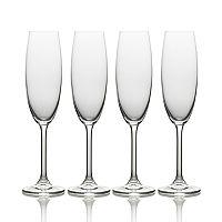 Mikasa Julie 4 pc Champagne Flute Set