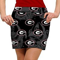 Women's Loudmouth Georgia Bulldogs Golf Skort