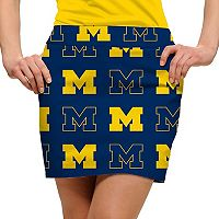 Women's Loudmouth Michigan Wolverines Golf Skort