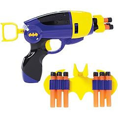 DC Comics Super Hero Girls Batgirl Blaster & Wearable Utility Belt with 6 Darts
