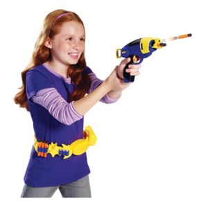 DC Comics Super Hero Girls Batgirl Blaster & Wearable Utility Belt with 6 Darts