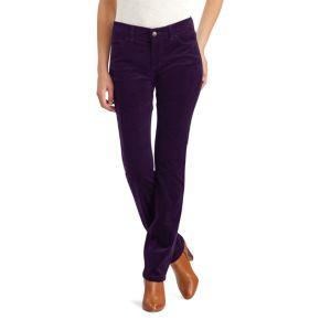 Petite Chaps 4-Way Stretch Straight-Leg Corduroy Pants