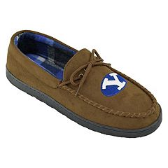 Men's BYU Cougars Microsuede Moccasins