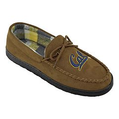 Men's Cal Golden Bears Microsuede Moccasins