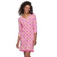 Women's Caribbean Joe Polynesian Dress