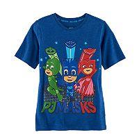 Boys 4-7 PJ Masks Catboy, Owlette & Gekko Jumping Graphic Tee