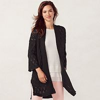 Women's LC Lauren Conrad Pointelle Cardigan