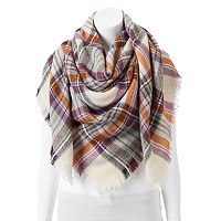 Apt. 9® Classic Plaid Blanket Square Scarf