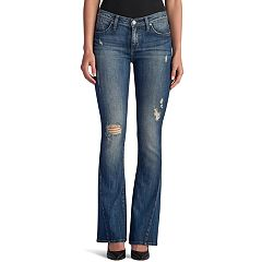Women's Rock & Republic® Kasandra Destructed Slim Bootcut Jeans