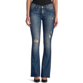 Women's Rock & Republic® Kasandra Destructed Slim Bootcut Jeans