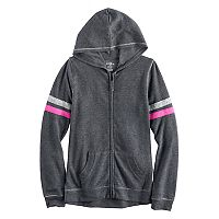 Girls 7-16 SO® Zip-Up Soft Hoodie