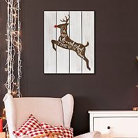 Reindeer Christmas Wall Decor
