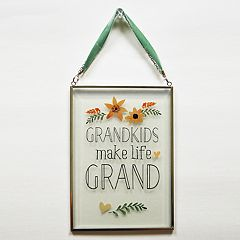 New View 'Grandkids' Suncatcher Wall Decor
