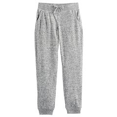 Girls 7-16 SO® Cozy Lace-Up Jogger Pants
