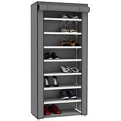 Home Basics Sunbeam Storage Closet with Shelving