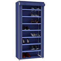 Home Basics Sunbeam 8-Tier Shoe Closet