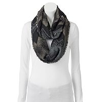 Apt. 9® Abstract Zigzag Jacquard Infinity Scarf