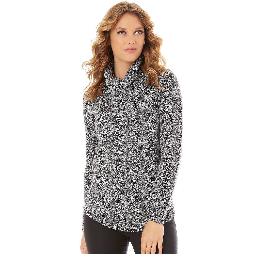 Apt. 9® Marled Cowlneck Tunic Sweater